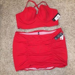 torrid Swim - NWT Torrid Red Vixen Swimsuit